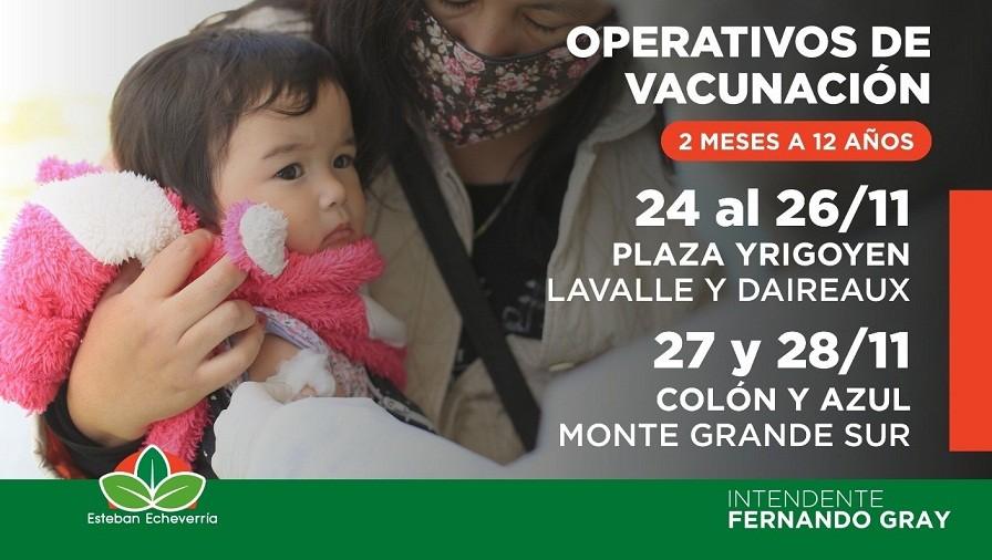 "Esteban Echeverría: Esta semana continúa el Programa ""Activá Vacunate"""