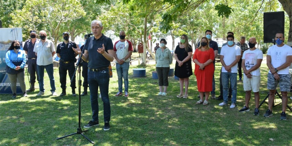 Berisso: El intendente inauguró la temporada de verano 2020-2021