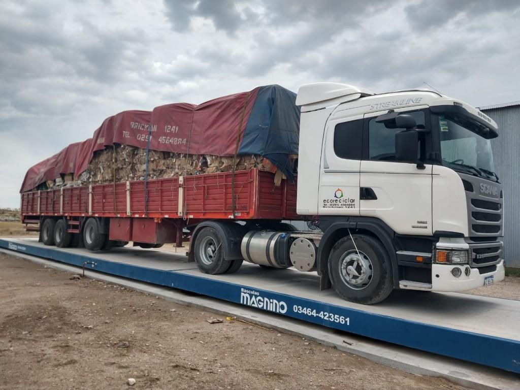 Monte Hermoso: Se entregaron más de 16 toneladas de materiales recuperados