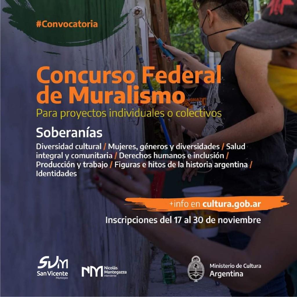 Primer Concurso Federal de Muralismo de San Vicente