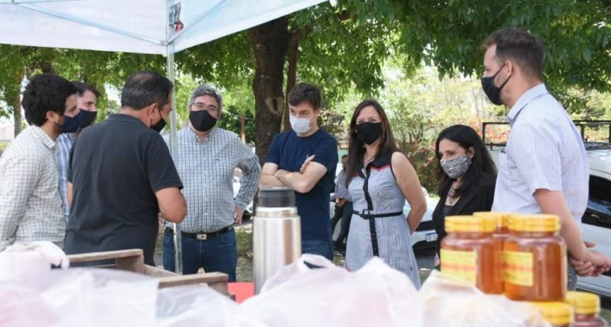 Morón: Lucas Ghi recibió al ministro de Desarrollo Agrario de la provincia
