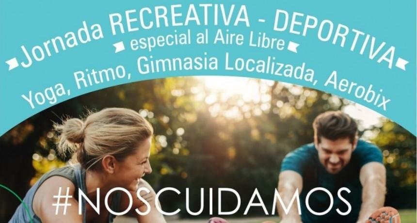 Tres Arroyos: Jornada especial al aire libre nos cuidamos y ejercitamos