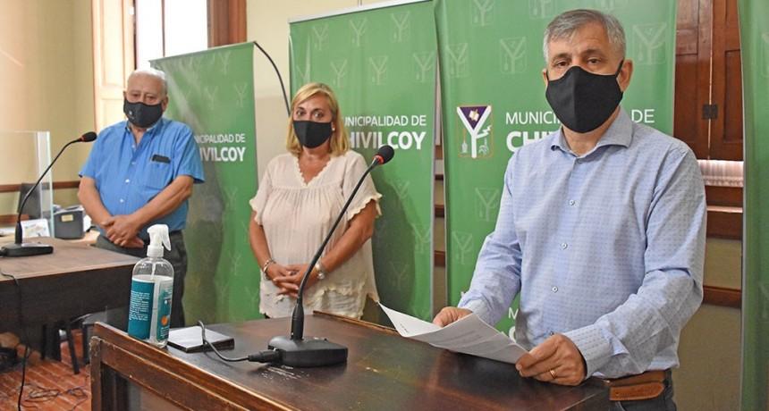 Chivilcoy: El intendente anunció un incremento a las horas extras y un bono de 6000 mil pesos para fin de año