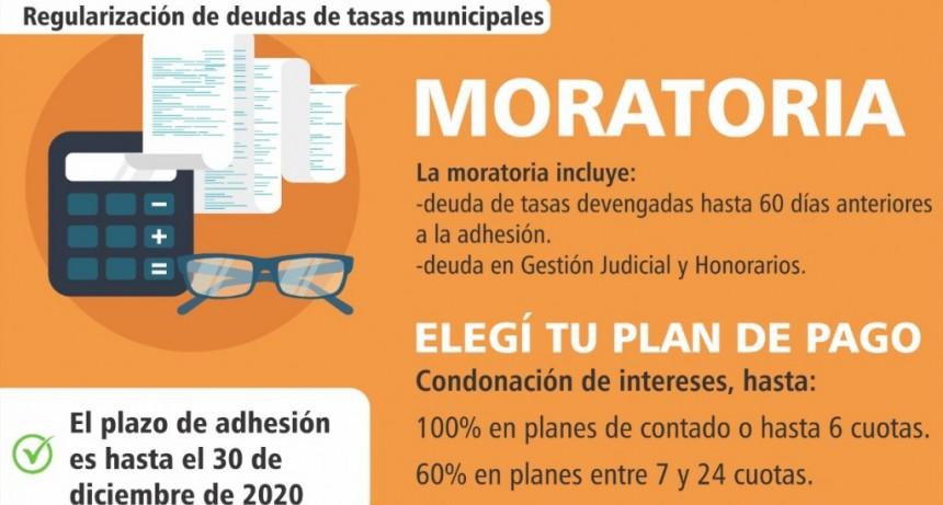 Baradero: Adhesión a la moratoria para la regularización de deudas de tasas municipales