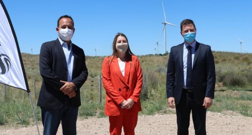 Villarino: Se inauguró Vientos del Secano, el segundo parque eólico de la localidad