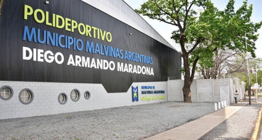 """Malvinas Argentinas: El polideportivo de Ing. Pablo Nogués se llamará """"Diego Armando Maradona"""""""