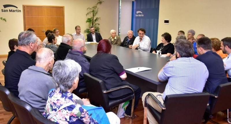 En San Martín, Katopodis presentó los primeros amparos para los jubilados