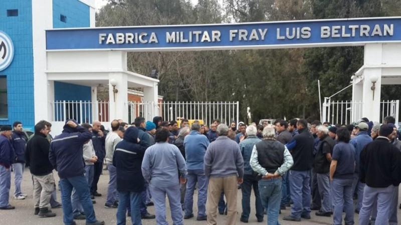 Suman 280 los despidos en Fabricaciones Militares
