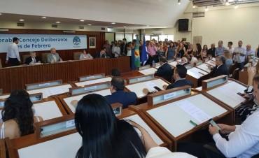 Tres de Febrero: Se realizó la jura de los doce concejales electos