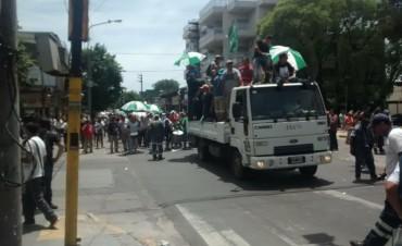 Moreno: Segundo día de paro de municipales y marcha por el centro