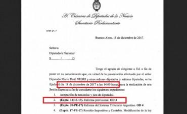 Reforma Previsional: Macri lo arreglaría con 750 pesos, con un bono por única vez