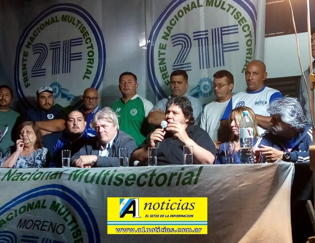 """Walter Correa: """"El presupuesto del FMI agrede los intereses del pueblo y de los trabajadores"""""""