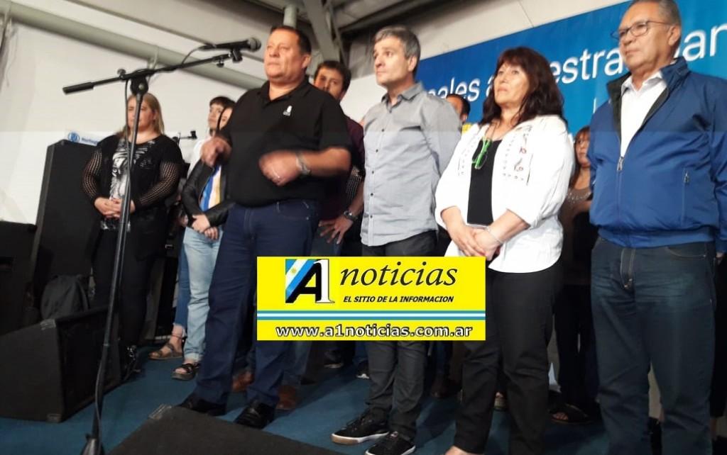Morón: Jorge D´Andrea asumió la presidencia del PJ rodeado de los trabajadores