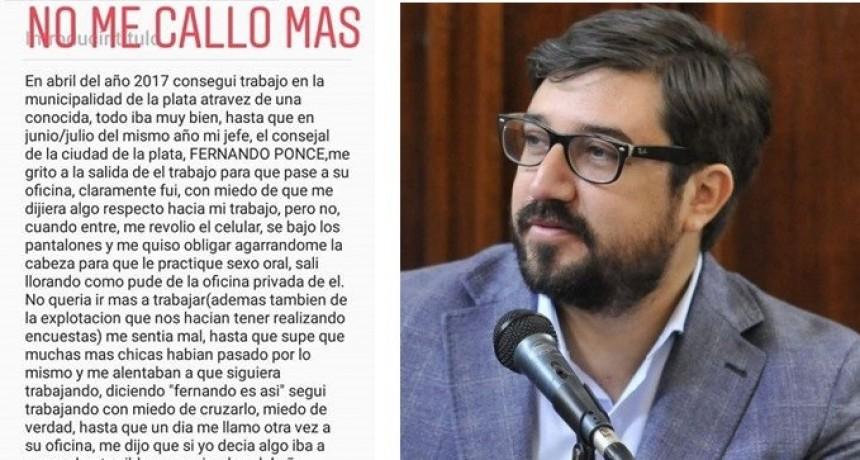 """La Plata: Ex empleada municipal denunció al Presidente del HCD por """"Acoso Sexual"""""""