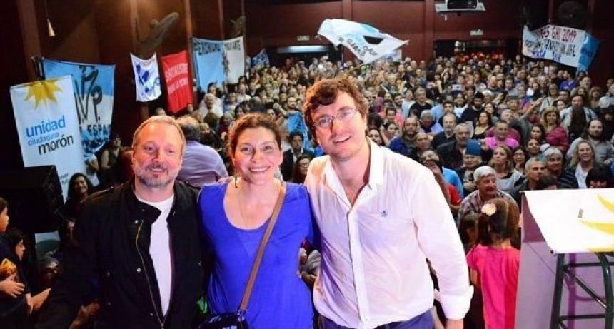 Morón: Lanzamiento de la candidatura de Lucas Ghi para enfrentar a Tagliaferro