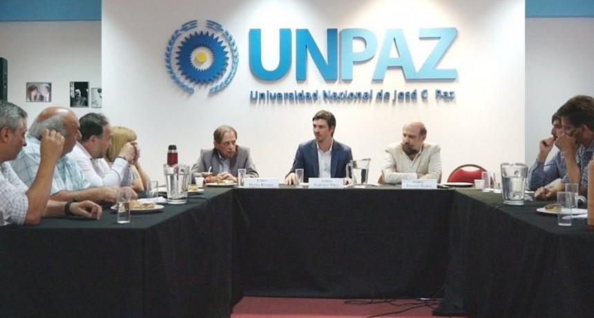 José C. Paz: Avanza la creación de la carrera de Medicina en la UNPAZ