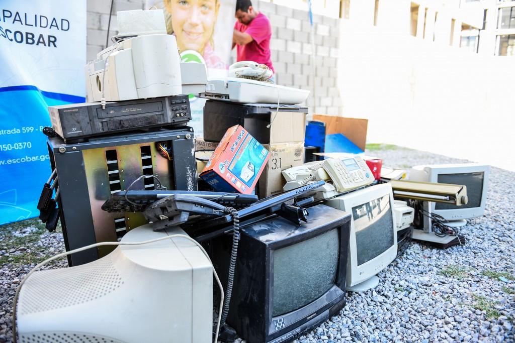 Escobar es sustentable. La Jornada de recolección, alcanzó a 30 mil kilos de residuos eléctricos y electrónicos