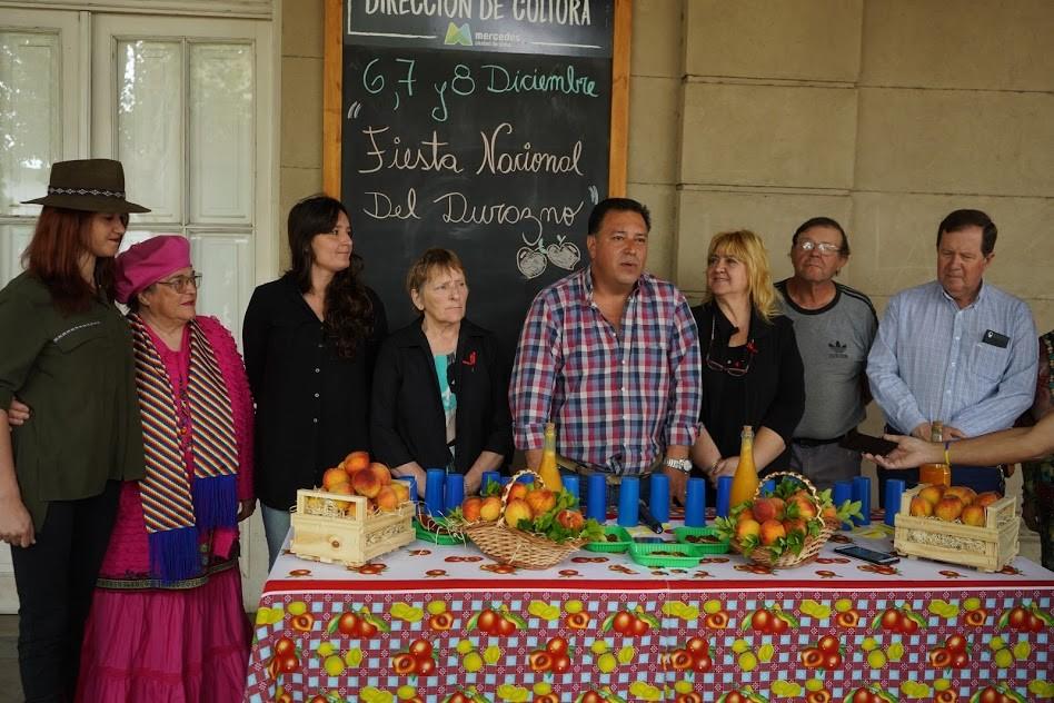 Mercedes: En el complejo Cultural la Trocha se desarrollará la 43° Fiesta Nacional del Durazno