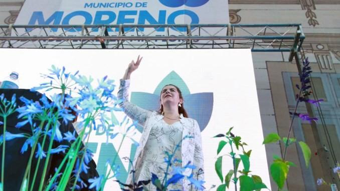 Mariel Fernández asumió como la primera intendenta mujer de Moreno