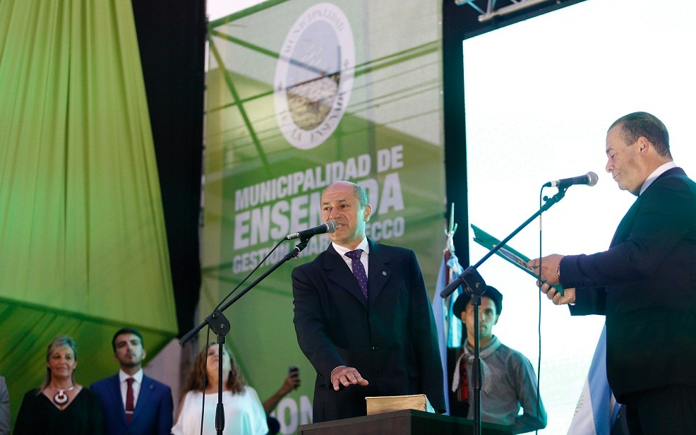 Ensenada: Mario Secco asumió su quinto mandato con una gran fiesta popular