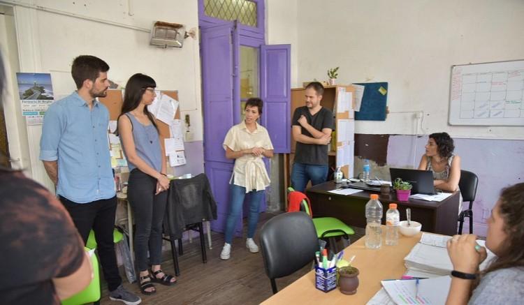 Quilmes: Mayra Mendoza, de recorrida por las distintas áreas municipales