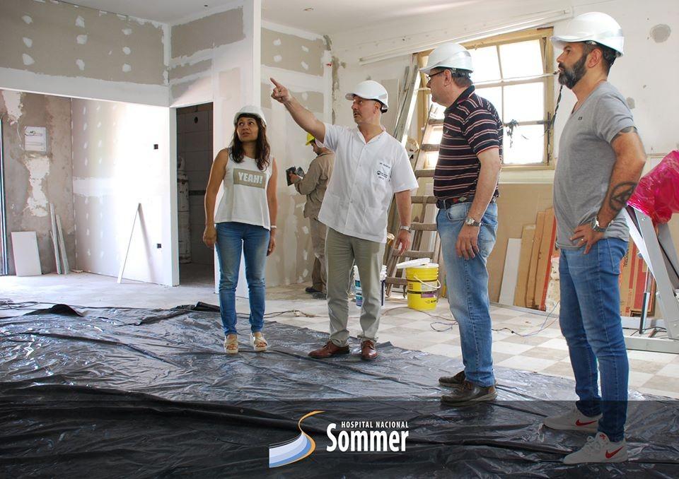 Gral. Rodríguez: Se informaron remodelaciones en el Hospital Nacional Sommer