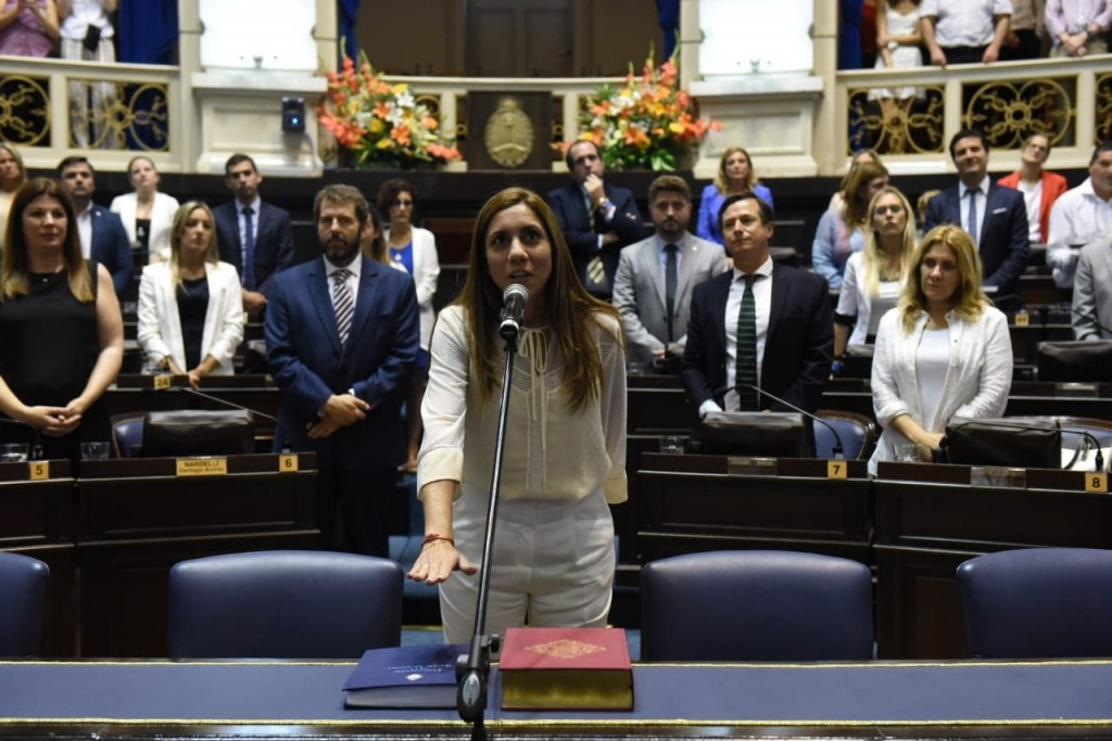 """Débora Galán: """"Voy a tratar de impulsar el proyecto de un nuevo Hospital para Moreno desde mi banca en la Legislatura"""""""