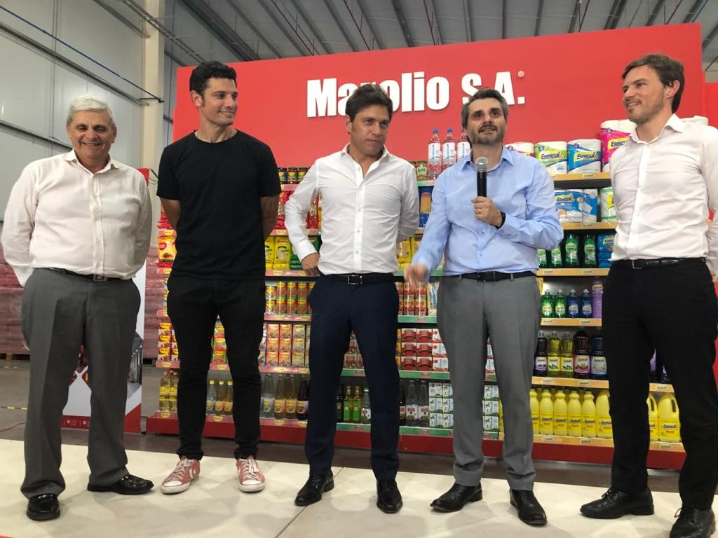 Gral. Rodríguez: Kicillof visitó la nueva planta de Marolio junto a Mauro García