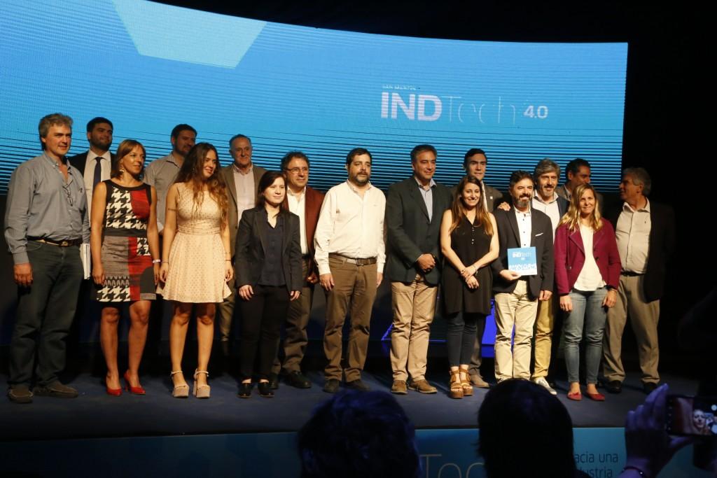 San Martín: El intendente Moreira encabezó el primer encuentro INDTech 4.0