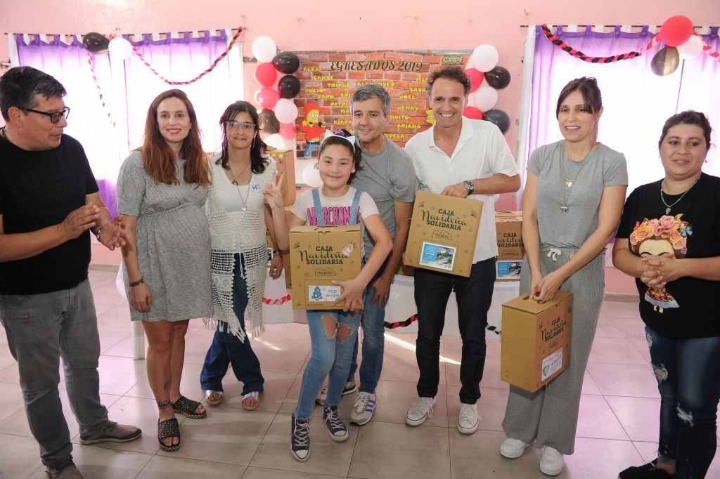 Hurlingham: El ministro Katopodis y Zabaleta visitaron el merendero del B° Los Milagros