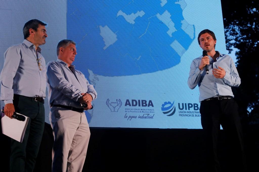Tigre: El ministro Augusto Costa encabezó el lanzamiento del Plan Productivo Industrial