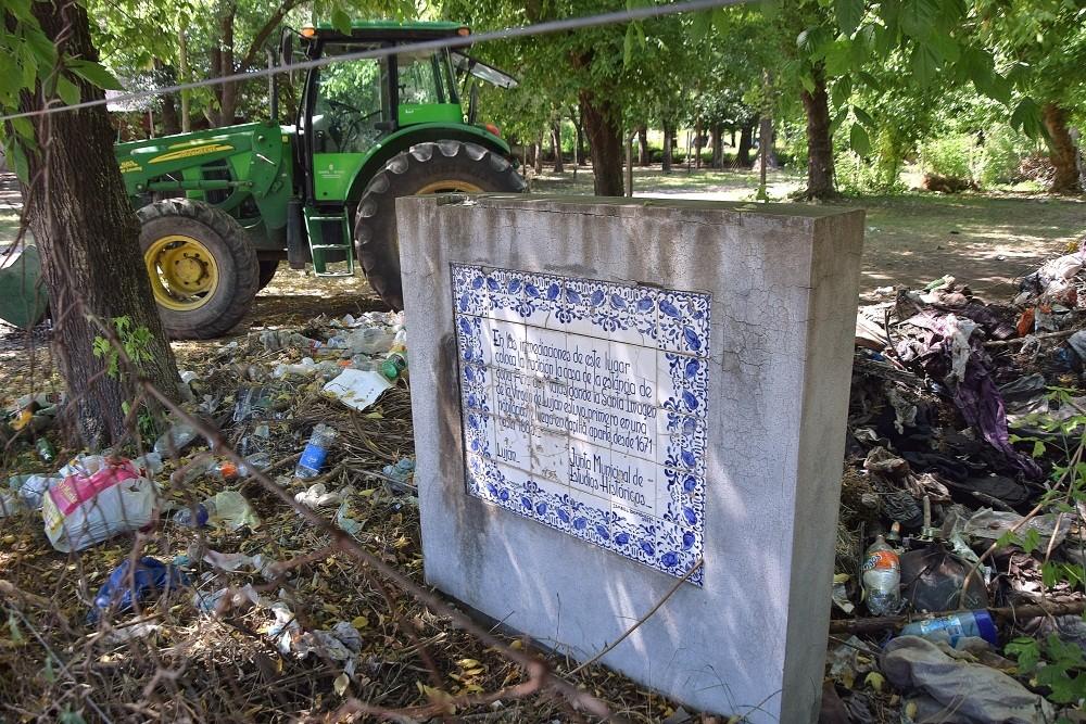 """Luján: Continúa el """"Programa 180 Días"""" con erradicación de minibasurales y señalización"""