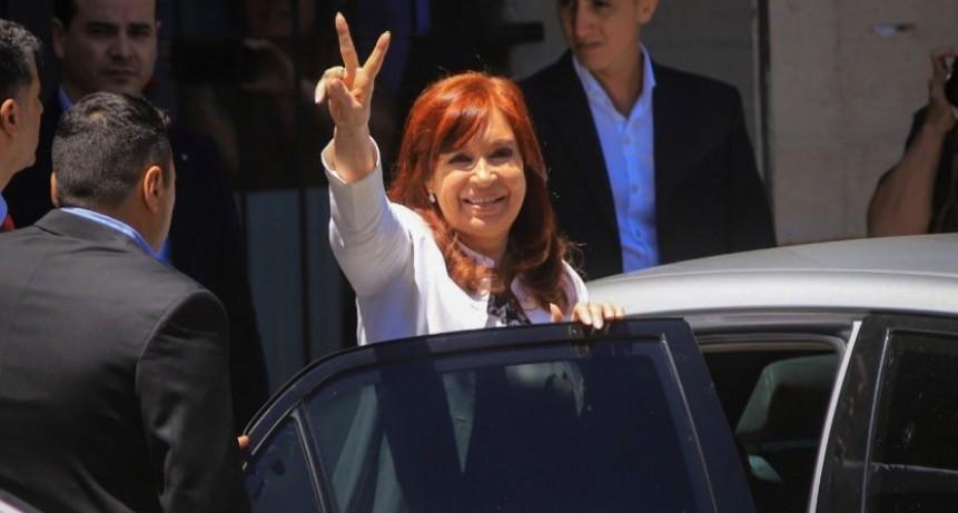 Una Cristina auténtica respondió en Comodoro Py con una declaración política