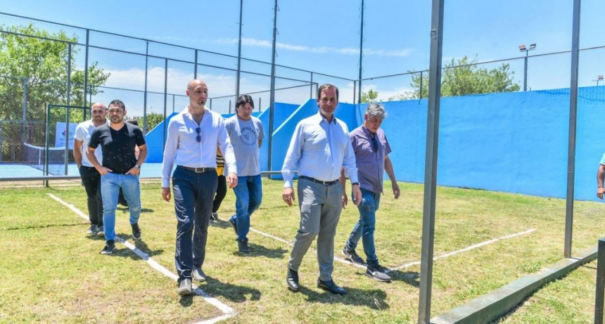 """Ariel Sujarchuk: """"El Club de La Familia de Matheu lo recuperamos y lo abrimos a la comunidad"""""""