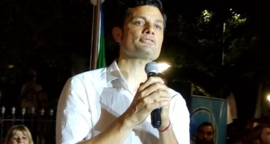 Gral. Rodríguez: El peronista Mauro García asumió como intendente en un acto multitudinario
