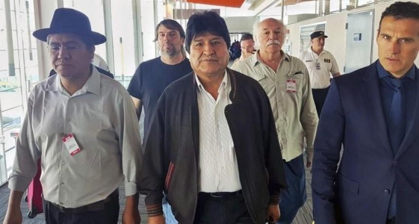 Evo Morales está en la Argentina y solicitó su permanencia como refugiado político
