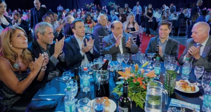 Berazategui: Ferraresi y Mussi asistieron a la gala de los Premios Olimpia 2019