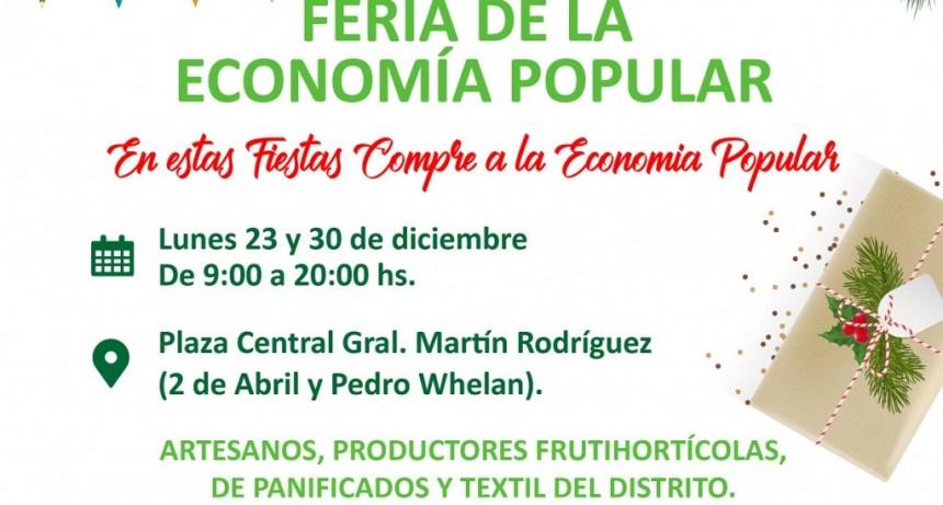 Gral. Rodríguez: En la previa de las fiestas, se realiza la Feria de la Economía Popular