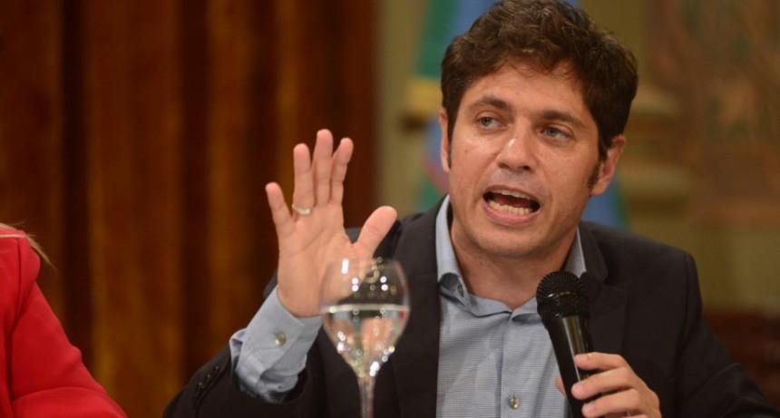 "Kicillof aseguró que ""todos se van a perjudicar"", si la Legislatura no aprueba el paquete impositivo"