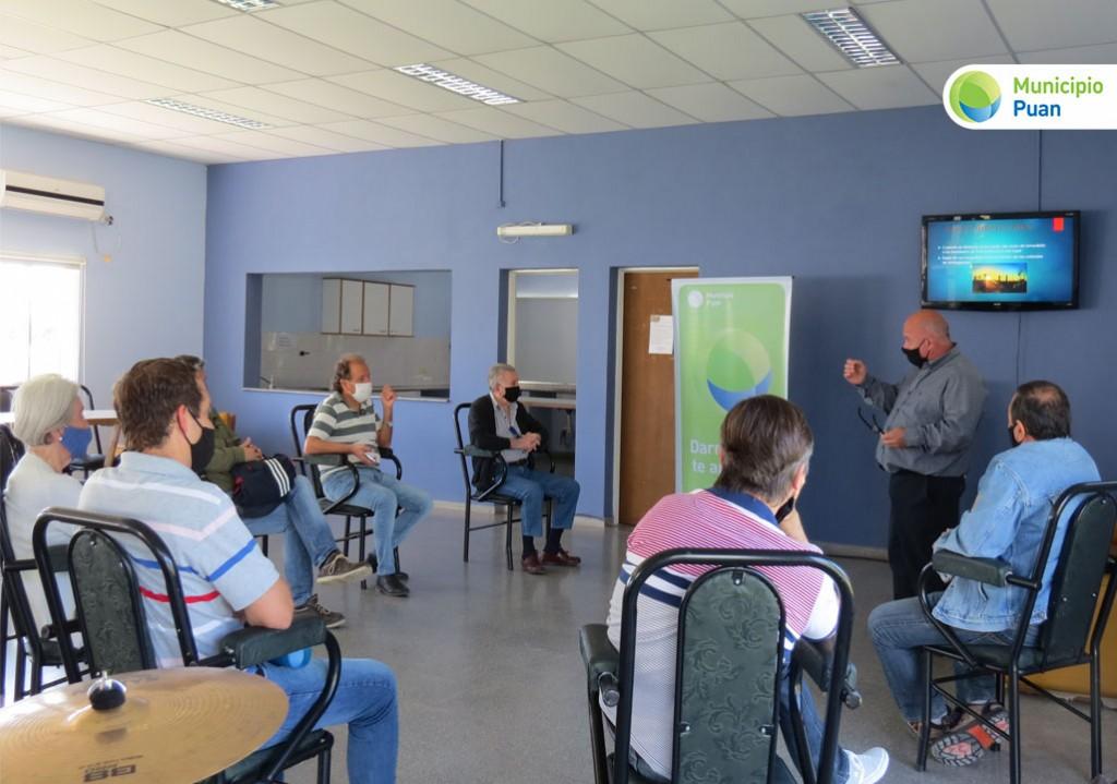 Puan: Reunión para coordinar acciones para la prevención de incendios