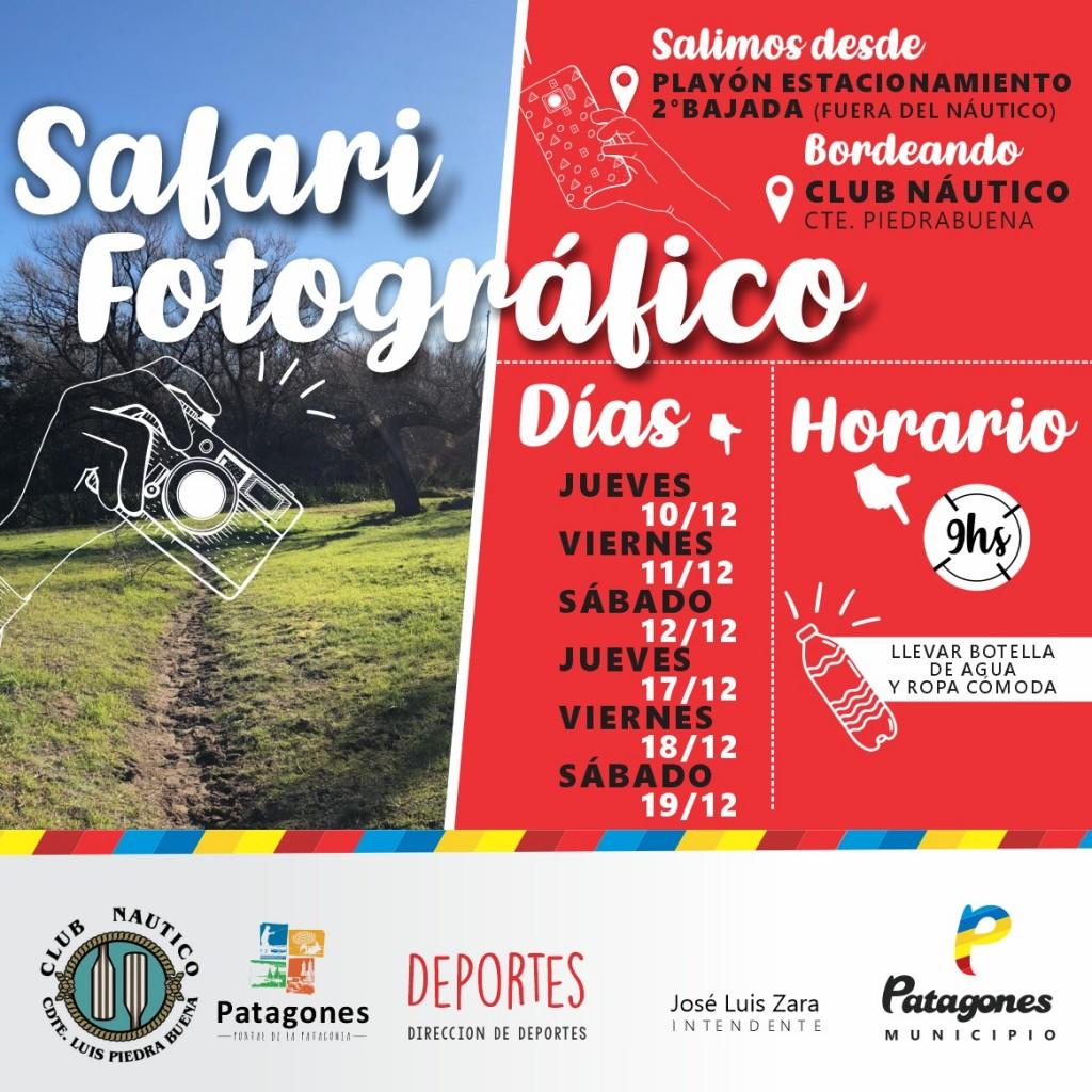 Safari fotográfico en Patagones