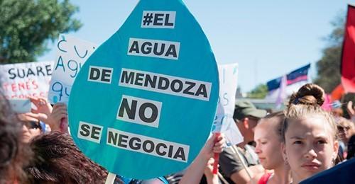 """Desde Fuerza Protectora advierten que """"es imperante que los mendocinos defendamos el agua que es el recurso más valioso que tenemos"""""""