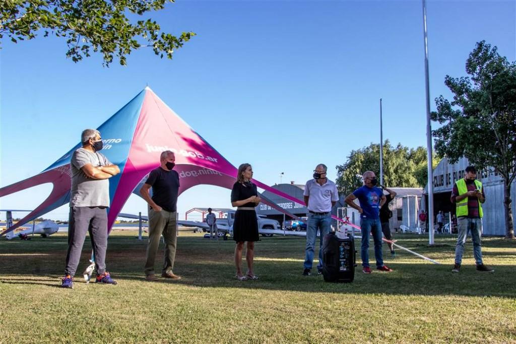 Junín: Organizado por el Club de Planeadores se realiza el Torneo Nacional de Vuelo a Vela