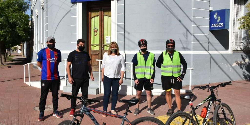 Gral. Arenales: Un trayecto solidario en bicicleta desde Rosario a Ascensión