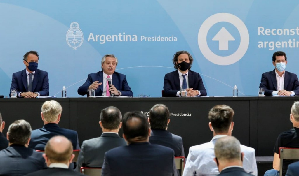 Avellaneda: Chornobroff acompañó a Alberto Fernández, en la inauguración de 30 obras para 12 provincias