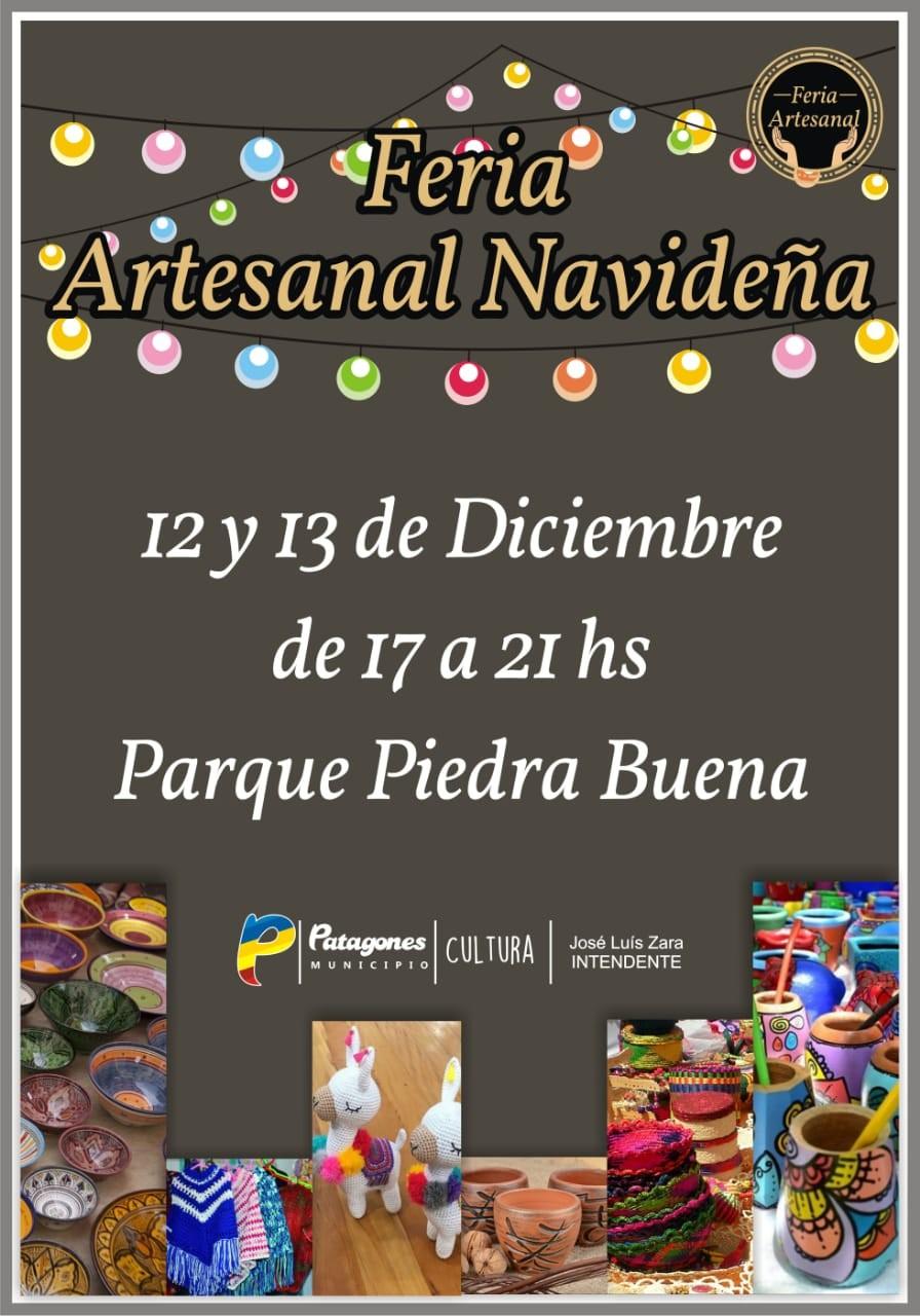 Feria Artesanal Navideña en la Costanera de Carmen de Patagones