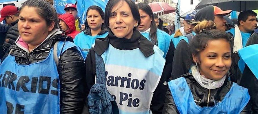 """Silvia Saravia: """"Hay muchos dirigentes que ahora son funcionarios del gobierno y miran para otro lado"""""""