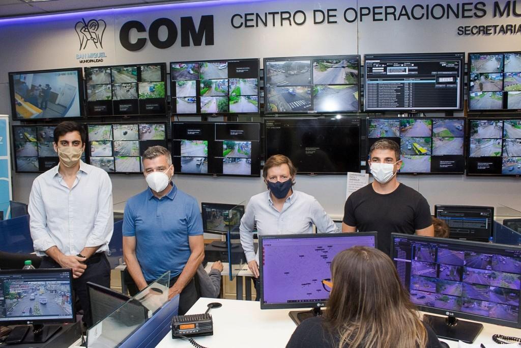 Hurlingham: Juan Zabaleta y Jaime Méndez compartieron experiencias para seguir mejorando la seguridad