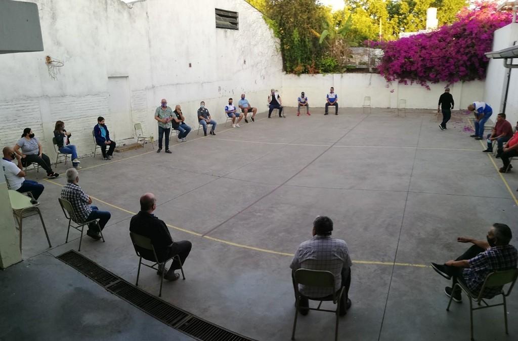 Moreno: La iglesia organizó una jornada de reflexión contra todo tipo de violencia, con gran participación gremial
