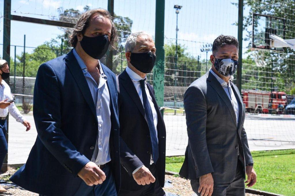 Merlo: Menéndez y El Ministro Alak visitaron el predio donde se construirá el Departamento Judicial